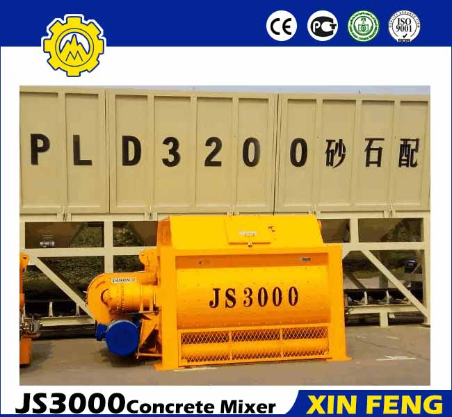 JS3000 Concrete Cement Mixer