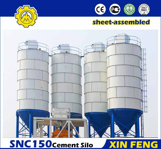 Sheet-assembled 150T Cement Silo