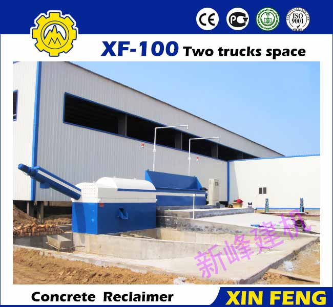 XF-100 Two Trucks Space Concrete Reclaimer