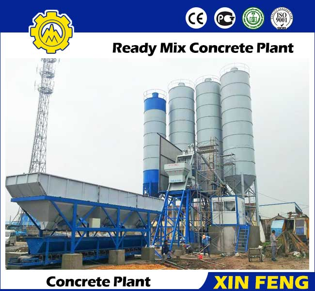 Cement Ready Mix Plant : Ready mix concrete plant mixing